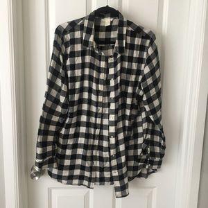H&M plaid flannel Shirt 16